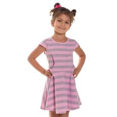 Andrea Kft. Mini&Me kislány ruha avokádó mintával