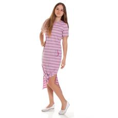 Andrea Kft. Mini&Me nagylány ruha avokádó mintával