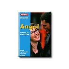 ANGOL SZAVAK ÉS KIFEJEZÉSEK - BERLITZ ÚTISZÓTÁR - nyelvkönyv, szótár