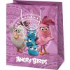 AngryBirds Dísztasak exkluzív közepes általános lila ANGRY BIRDS