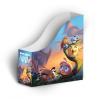 AngryBirds Iratpapucs összehajtható 8cm-es gerinc lány Angry Birds