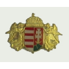 Angyalos új címeres (29x20mm) jelvény arany színű