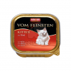 Animonda Cat Vom Feinsten Kitten, marha 6 x 100 g