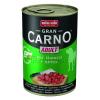Animonda GranCarno Adult konzerv, szarvas és alma 24 x 400 g