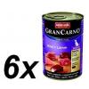 Animonda GranCarno Senior Kutyakonzerv, borjú és bárány, 6 x 400 g