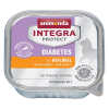 Animonda Integra Protect Adult Diabetes tálcás 6 x 100 g - Marha
