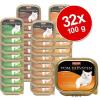 Animonda Vom Feinsten Adult vegyes megapack 32 x 100 g - Színes hal- & hús-mix