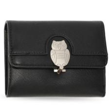 Anna Grace AG Baglyos pénztárca-fekete