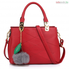 Anna Grace Női táska válltáska bordó színben