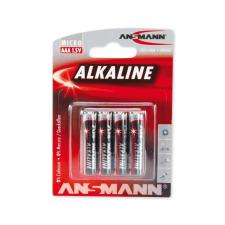 Ansmann LR03 AAA RED - 4db  - alkáli elem 1,5V ceruzaelem