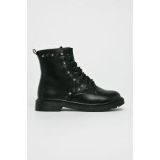 ANSWEAR - Magasszárú cipő Martin Pescatore - fekete - 1391999-fekete