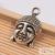 Antik ezüst színű buddha