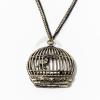 Antikolt kalitka medál kétszínű nyakláncon jwr-1105