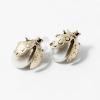 Antikolt katica fülbevaló gyöngyös jwr-1059