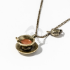 Antikolt kávéscsésze medálos nyaklánc jwr-1191