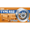AOSHIMA 1/24 BBS RSII felni és gumi szett modell kiegészítő
