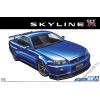 AOSHIMA - Nissan BNR34 Skyline Gt-R V-Spec II 2002