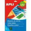 APLI 70x37 mm zöld Etikett (100 lap)