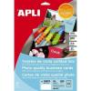 APLI 89x51 mm 250 g előre vágott fotóminőségű névjegykártya