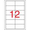 APLI 97x42,4 mm, eltávolítható univerzális Etikett (100 lap)