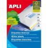 APLI 99,1x93,1 mm, kerekített sarkú univerzális Etikett (100 lap)