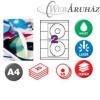 APLI APLI CD/DVD cimke matt eltávolítható 50db