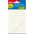 APLI Etikett, 8 mm kör, kézzel írható, fehér, APLI, 480 etikett/csomag (LCA1183)