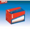 APLI Etikett, 8x12 mm, kézzel írható, tekercsben, APLI, 12000 etikett/csomag