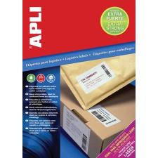 """APLI Etikett, univerzális, 105x37 mm, extra erős, APLI """"Super Sticky"""", 1600 etikett/csomag etikett"""