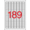APLI Etikett, univerzális, 25,4x10 mm, eltávolítható, kerekített sarkú, APLI, 4725 etikett/csomag