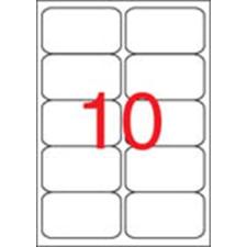 APLI Etikett, univerzális, 99,1x57 mm, kerekített sarkú, APLI, 1000 etikett/csomag etikett