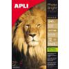 "APLI Fotópapír, tintasugaras, 10x15 cm, 240 g, fényes, APLI ""Photo Bright"""