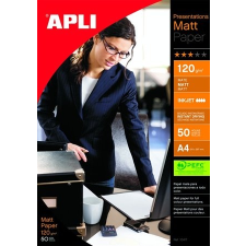 "APLI Fotópapír, tintasugaras, A3, 120 g, matt, APLI ""Presentations"" fotópapír"