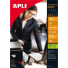 "APLI Fotópapír, tintasugaras, dobozos,  A4, 120 g, matt, APLI ""Presentations"""