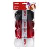 APLI Gombolyag készlet, APLI Kids, bordó-fekete-fehér színek (LCA14091)
