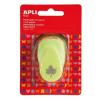 """APLI Mintalyukasztó, levél, 16 mm, APLI """"Creative"""" világoszöld"""