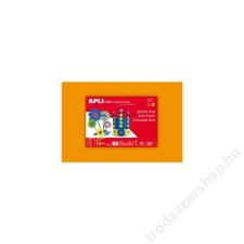 APLI Moosgumi, 400x600 mm, APLI Eva Sheets, narancssárga (LCA12758) irodai kellék