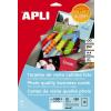 APLI Névjegykártya, 89x51 mm, 250 g, előre vágott, fotóminőségű, APLI