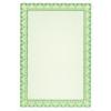 APLI Oklevélpapír, smaragdzöld