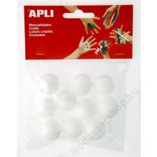APLI Styropor gömb, 25 mm, APLI Creative (LCA13278) irodai kellék