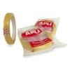 """APLI """"Transparent"""" 12 mm x 66 m átlátszó ragasztószalag"""