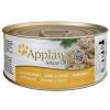 Applaws hús-/hallében 6 x 70 g - Csirkemell & sajt