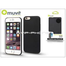 Apple Apple iPhone 6/6S hátlap - Muvit Back Thin Case - black tok és táska