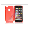 Apple Apple iPhone 6 Plus szilikon hátlap - S-Line - piros