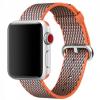 Apple Eredeti óraszíj szövött nejlonból Apple Watch 38mm készülékre - paprikás narancssárga