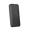 Apple Forcell Elegance Apple iPhone X oldalra nyíló mágneses könyv tok szilikon belsővel fekete