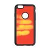 Apple Forcell Thermo Apple iPhone 5G/5S/SE hőre változó hátlapvédő szilikon tok piros