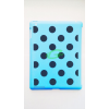 Apple iPad 2 világoskék alapon fekete pöttyös hátlapvédő