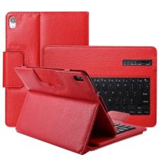 Apple iPad Pro 11 (2018), Bluetooth billentyűzetes mappa tok, piros tablet tok