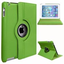 Apple iPad Pro 11 (2020), mappa tok, elforgatható (360°), zöld tablet tok